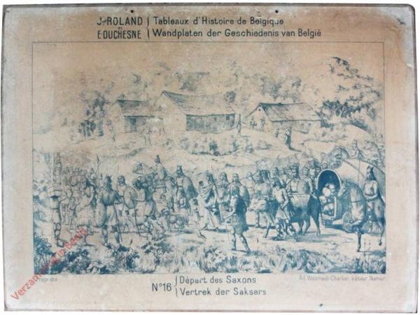 16 - Départ des Saxon - Vertrek der Saksers