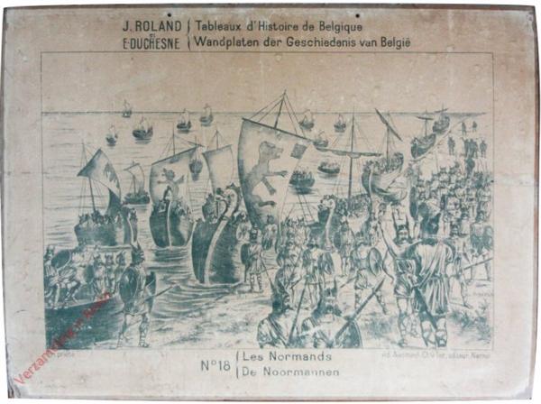 18 - Les Normands - De Noormannen