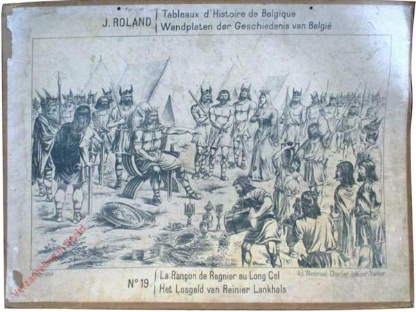 19 - Le Ranson de Regnier au Long Col - Het Losgeld van Reinier Lankhals