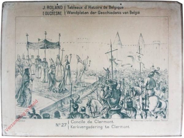 27 - Concile de Clermont - Kervergadering te Clermont
