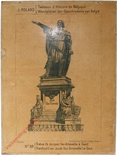 38 - Statue de Jacques Van Artevelde a Gand - Standbeeld van Jacob  Vanm Artevelde te Gent