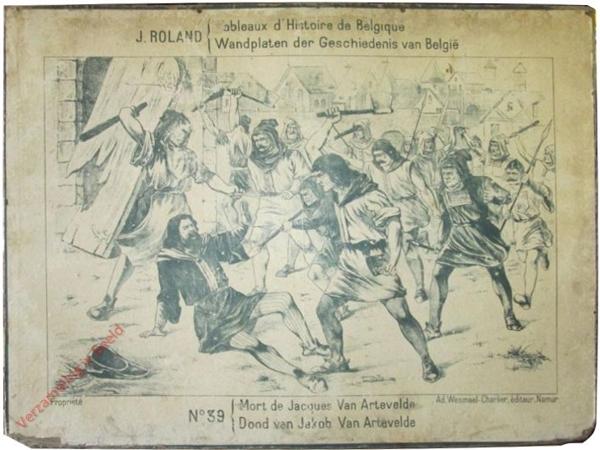 39 - Mort de Jacques Van Artevelde - Dood van Jacob Van Artevelde