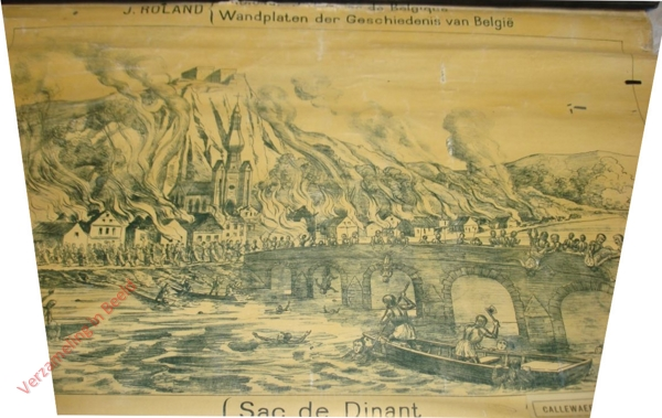 41 - Sac de Dinant. Verwoesting van Dinant