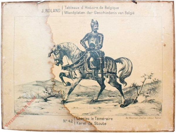 42 - Charles les Téméraire - Karel de Stoute