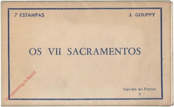 Os VII sacramentos [Map Portugees]