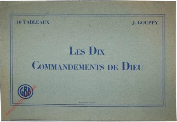 Les dix commandements de Dieu [Map Frans]