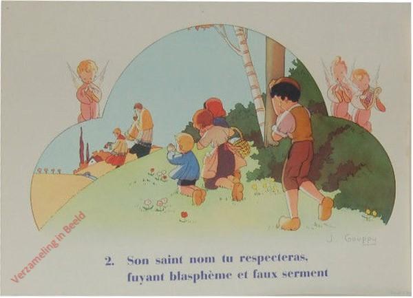 [2] 2062 - Son saint nom tu respeceras fuyant blaspheme et faux serment [Frans]