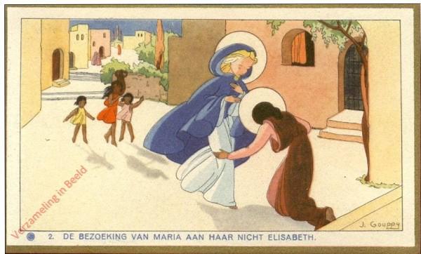 2 - [La visite de Marie à sa cousine Elisabeth] [Frans]