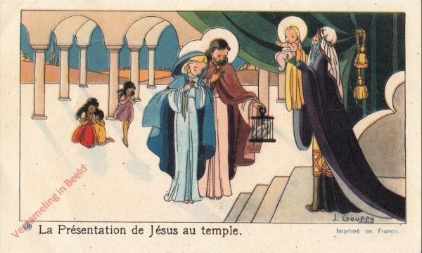 4 - La Présentation de Jésus au temple [Frans]