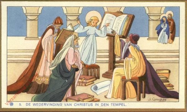 5 - [La re-découverte du Christ dans le Temple] [Frans]