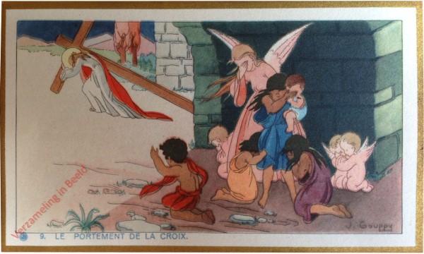 9 - Le portement de la croix [Frans]