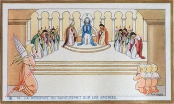 13 - La descente du Saint-Esprit sur les apotres [Frans]