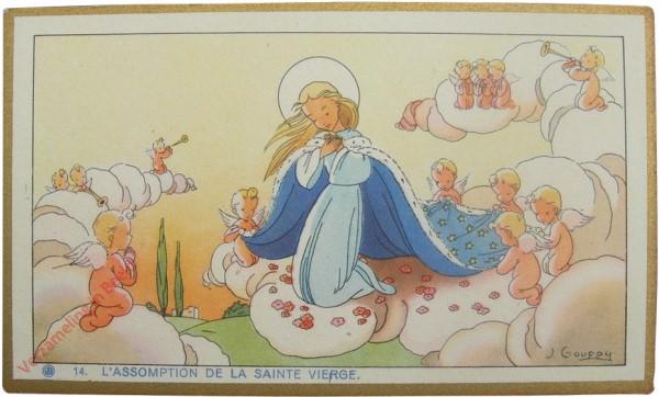 14 - L'assomption de la Sainte Vierge [Frans]
