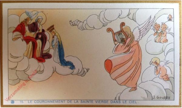15 - Le couronnement de la Sainte Vierge dans le ciel [Frans]