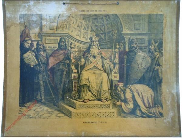 5 - Karel de Groote (742-814). Charlemagne (742-814)