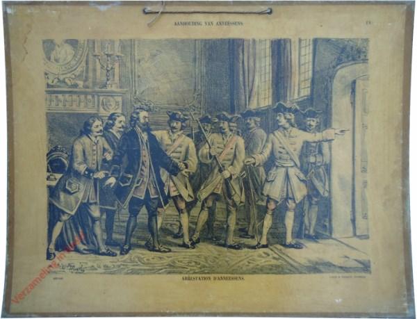 18 - Aanhouding van Anneessens. Arrestation d'anneessens