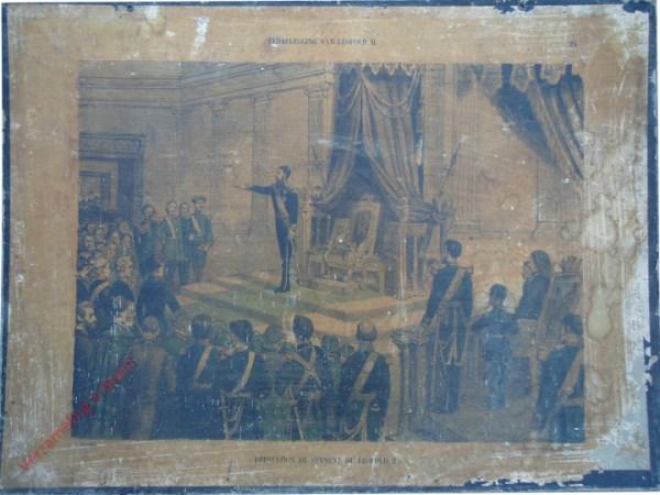24 - Eedaflegging van Leopold II. Prestation de serment de Léopiold II