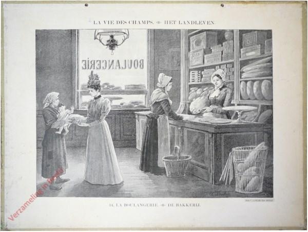 14 - La boulangerie. De bakkerij
