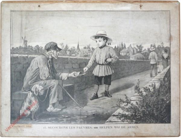 15 [13 oud] - Secourons les pauvres. Helpen wij de armen