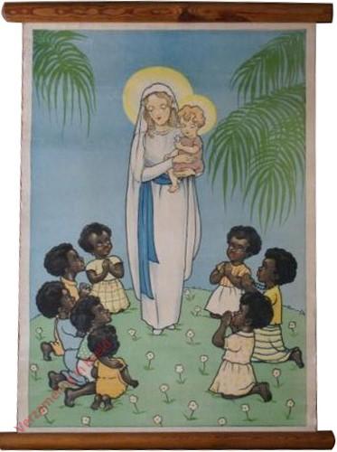 [Aanbidden van Maria met kindje Jezus]