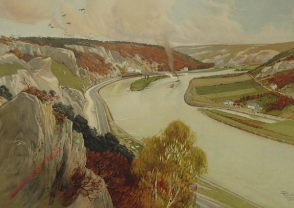 La Vallée de la Meuse. De Vallei der Maas