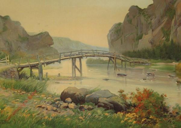 L'Ardenne. Site dans la vallée de l'Ourthe. De Ardennen. Het Dal van de Ourthe