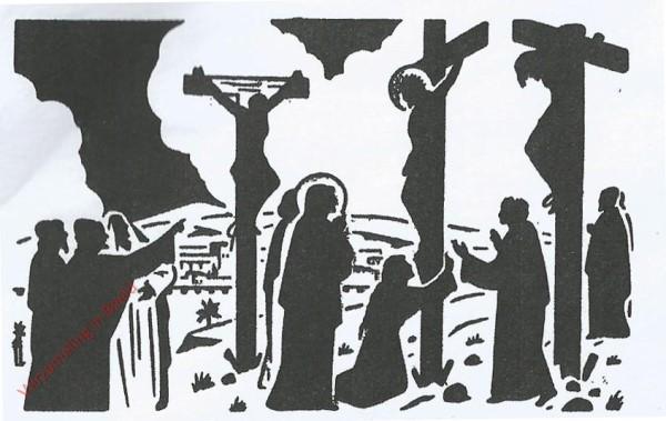 Jezus op het Kruis