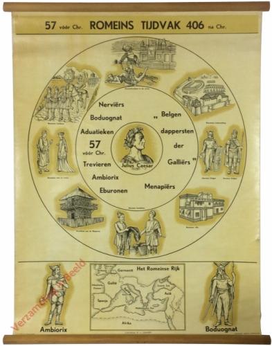 57 vóór Chr. Romeins Tijdvak.  406 na Chr.