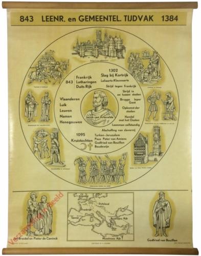 843. Leenroerig en Gemeentelijk Tijdvak. 1384