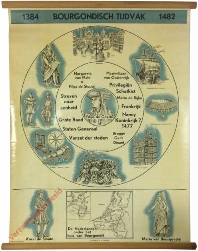 1384. Bourgondisch Tijdvak. 1482