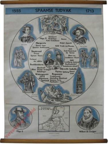1555. Spaans Tijdvak. 1713