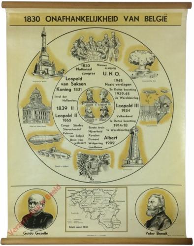 1830. Onafhankelijkheid van België