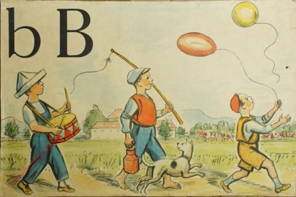2 - b B