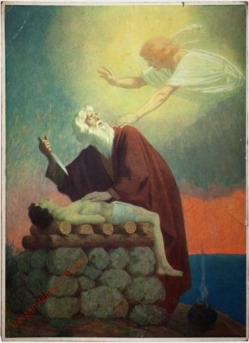 6 - Abraham offert Isaak