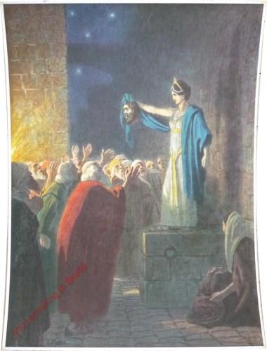 23 - Judith toont het hoofd van Holoferne
