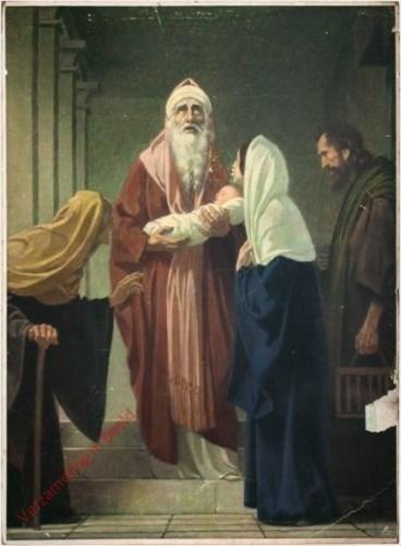 30 - Opdracht van Jezus in de tempel