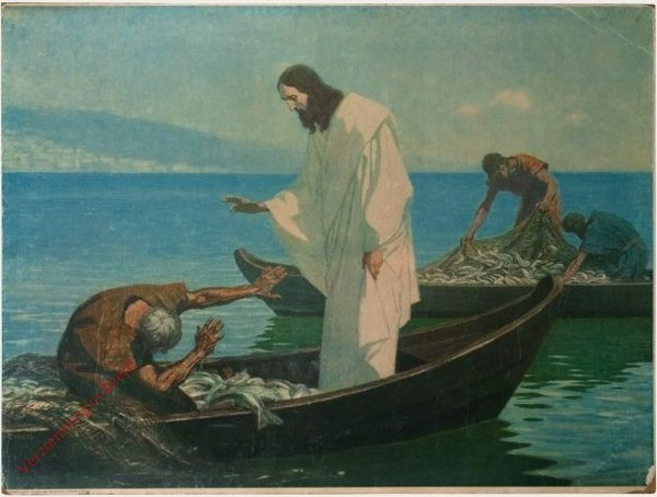 43 - De wonderbare visvangst