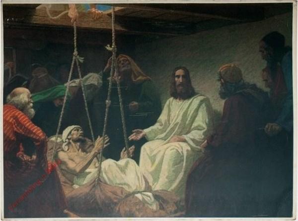 44 - Jezus geneest de jichtlijder