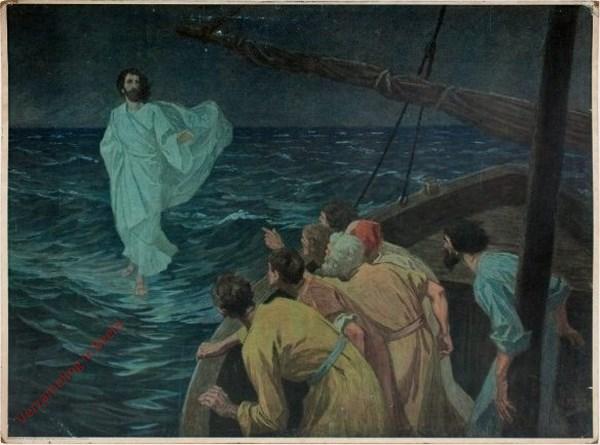 53 - Jezus wandelt op de zee
