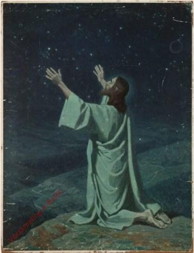64 - Jezus in gebed op de berg