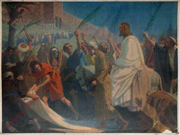 71 - De intocht van Jezus in Jeruzalem