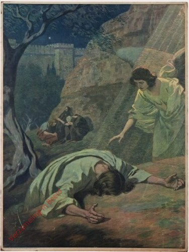75 - De doodsangst van Jezus op de Olijfberg