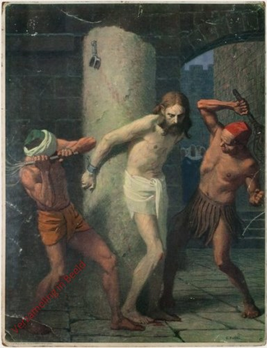 78 - Jezus wordt gegeseld