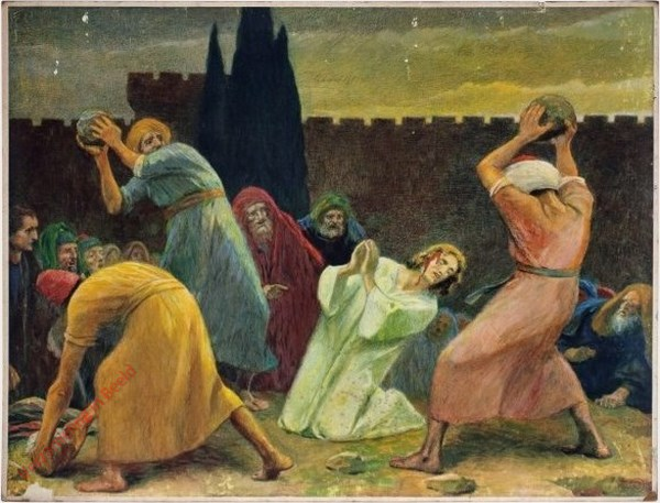 92 - De steniging van Stephanus