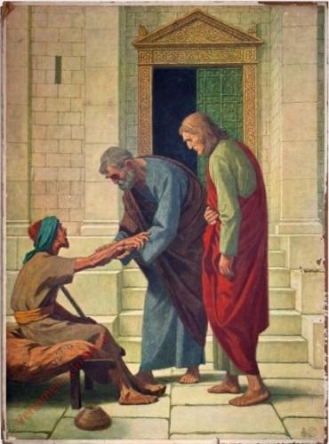 95 - De heiliging van de lamgeborene door Petrus