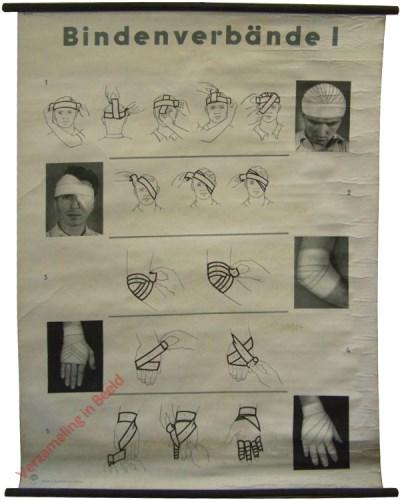 9535 - Zwachtelverbanden I. Hoofd en arm