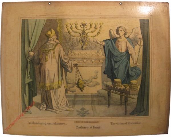 XIII - Aankondiging van Johannes