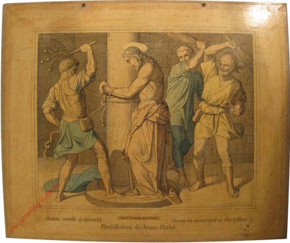 XXXII - Jezus wordt geeseld