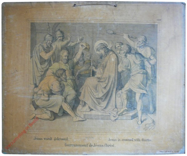 XXXIII - Jezus wordt gekroond