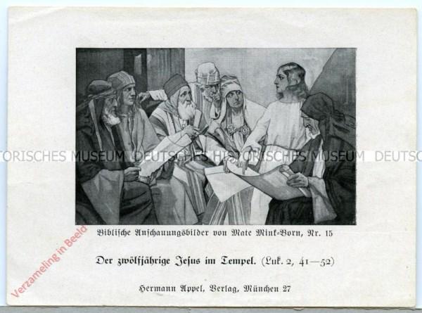 15 - Die zwölfjärige Jesus im Tempel